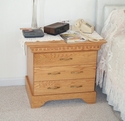 Red Oak Nightstand w/drawers